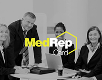 MedRep Loyalty Program Card
