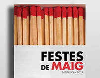 Cartel Festes de Maig Badalona