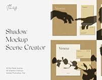 Veneta Shadow Mockup Scene Creator / Bundle / Kit PSD