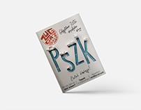 PSZK Zuggazdász cover design