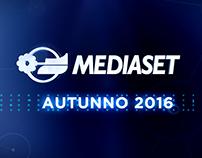 MEDIASET - Palinsesti Autunno 2016