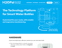 IoT platform - H2OPal B2B Web design and copywriting