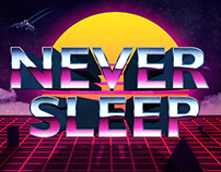 Never Sleep | Poster
