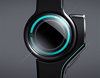Tron inspired watch