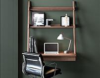 Simplycity Hanging Desk