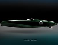 OFFICINA ARMARE HERON - MODERN RETRO YACHT CONCEPT BOAT