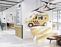 Hospital Corridor Design (CGI)