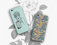 Shiv illustration / Society6 Phone cases