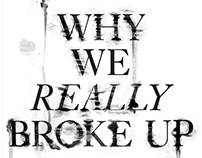 GLAMOUR MAGAZINE • WHY WE REALLY BROKE UP