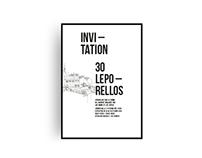30 Leporellos. - posters