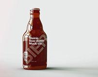 Beer Bottle Mock-Up | Craft Beer