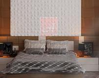 Гипсовые 3D панели Alivio серии Mosaic