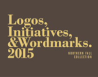 Logos & Wordmarks 2015 (Northern Fall Collection)