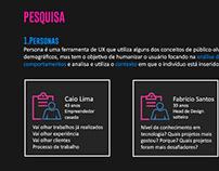 Interface da página sobre Direção de Arte da Prisma