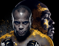 Daniel Cormier Key Art Comps