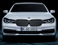 Personal Project - Curl Noise and BMW 750LI