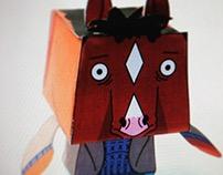 Papertoy Bojack Horseman