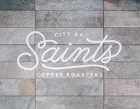 City of Saints Coffee Roasters: Brand Design