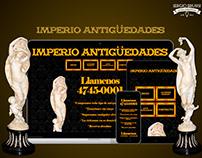IMPERIO ANTIGUEDADES - ECOMMERCE - DISEÑO WEB