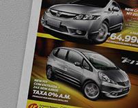 Advertising & Print Ads / Honda Brazil