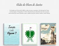Clube do Choro de Santos | Cartazes