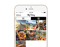 Diary app for iPhone