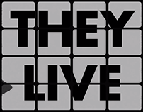 They Live: Opening Credits Title Sequence