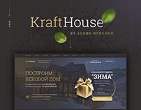 Kraft House - Landing Page