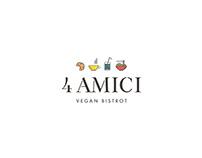 4 Amici - Vegan Bistrot