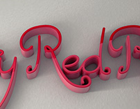 Chatty Red Robin - Typography