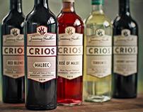 Crios Wines Rebrand