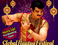 Global Naatya Festival Flyer