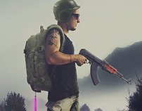 Soldier (Photomanipulation)