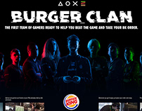 Burger King / Burger Clan / Digital Activation