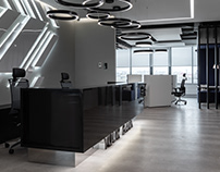 Interior photoshoot of commercial office space, Kyiv