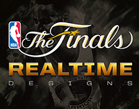 Official NBA 2015 Finals | Real-Time Designs