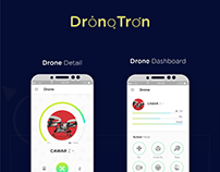 DronoTron- Drone Controller App UI Design.