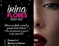 IRINA FLORES MakeUp (Flyer)