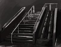 concept art staircase