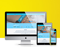 Projecto Estou Aqui - Responsive Website