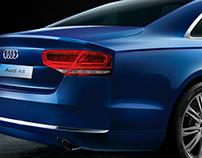 Audi A8 CGI