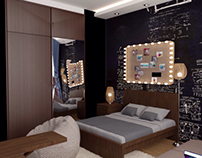 Bedroom for youth