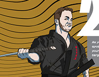 ATA World Magazine Weapons Trick Illustration & Layout