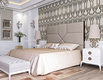 Roberto Cavalli Bed Room.
