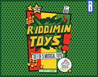 RIDDIMIN TOYS (Product Design)
