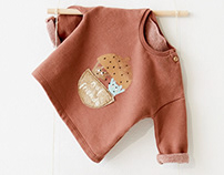 Nut Friends Sweatshirt for Zara Mini AW18