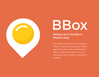 BBox - Restaurant Interface & Mobile App