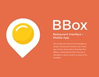 BBox - Restaurant Interface & Mobile App