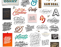 Lettering and Calligraphy Collection 2018