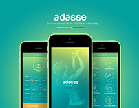 Adasse: Gym workout mobile app